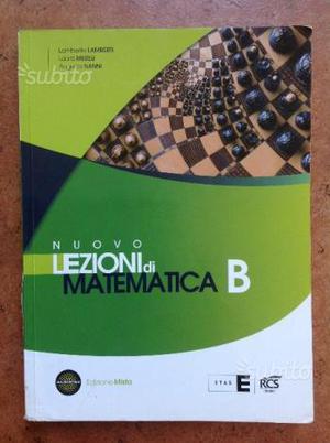 Nuovo lezioni di matematica b