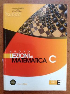 Nuovo lezioni di matematica c