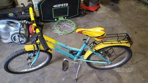 Bicicletta bimbo da 7 anni a 10 anni