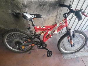 Bicicletta misura 20 bambini età 6/9 anni