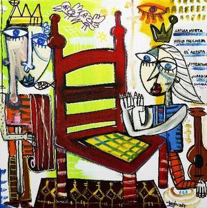 4 quadri moderni dipinti a mano palermo posot class for Dipinti figurativi moderni