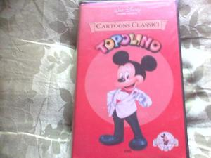 WALT DISNEY FILM VHS