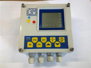 Centralina pH-Rx-T con uscite a rele e in mA