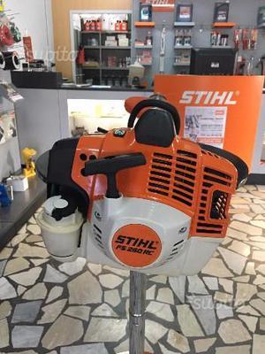 Decespugliatore Stihl FS 260 RC EX PROVA