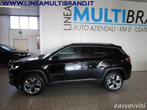 Jeep compass 14 multiair 170 cv aut4wd limited pack
