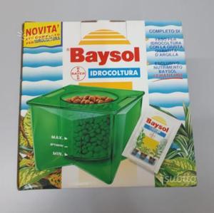 Kit completo Idrocultura Idroponica Baysol Bayer