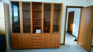 Libreria scaffale paravento divisorio posot class for Scaffale da scrivania