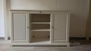 Credenza A Vetri Ikea : Scrivania ikea liatorp usata tavolo vetro ufficio stupefacente