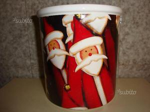 Vaso ceramica Natale Germany AsA Selection 14x14cm