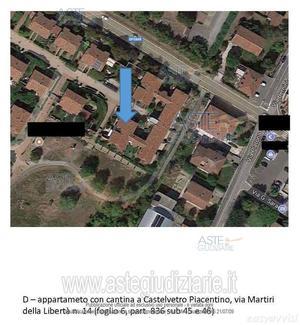 Appartamento trilocale 80 mq, provincia di piacenza