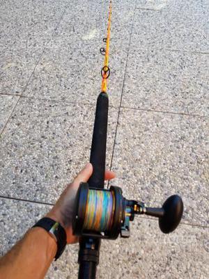 Canna drifting zaratan 80 lb + Penn Fathom 40 lb 2