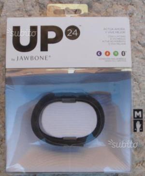 Jawbone UP 24 nero taglia M
