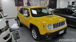 Jeep renegade 1.6 mjt 120 cv limited diesel, valle daosta