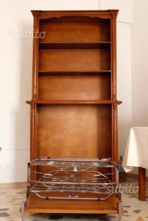 Libreria con letto posot class - Libreria con letto a scomparsa ...