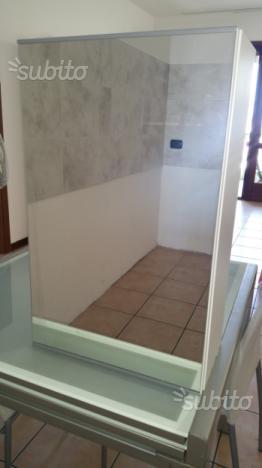 Consolle ingresso da parete con specchio posot class for Vendo mobile bagno