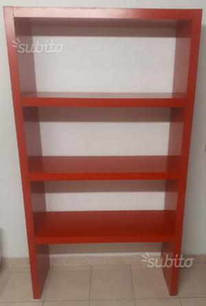 Libreria ikea rossa kallax | Posot Class
