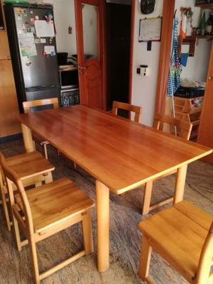Vendo tavolo da cucina 6 sedie
