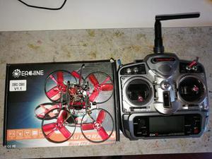 Aurora 90 Micro FPV Racing Drones con Spektrum DX7