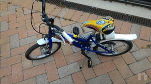 Bicicletta da bimba misura ruota 16 pollici, età 4-7 anni