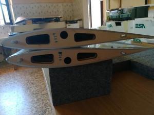 Blanik L13 Sebart vendo ali piani di coda e direzionale
