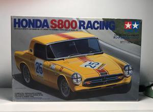 HONDA S800 RACING TAMIYA