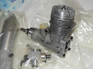 Motore a scoppio MDS 48 ABC (= 7,88 cc.)