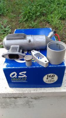Motore os 160 FX - Marmitta