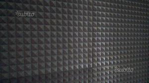 Pannelli piramidali insonorizzanti 6 pz