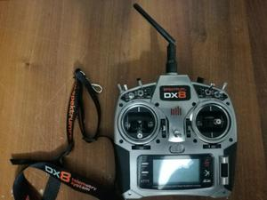 RADIO SPEKTRUM DX8 8 CANALI MODE 2 USATA