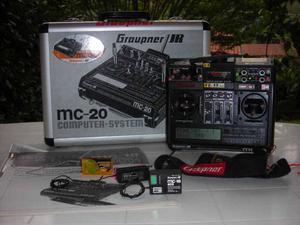 Vendo MC 20 GRAUPNER da amatore perfettamente funzionante