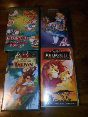 CASSETTE VHS ORIGINALI WALT DISNEY