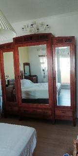Camera da letto in legno anni '40