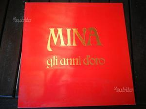 """Cofanetto 3 LP di Mina """"Gli anni d'oro"""""""