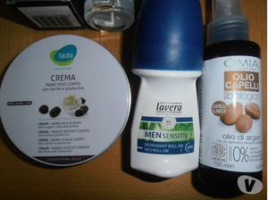 Deo roll-on e spray, crema ed olio, tutti naturali.