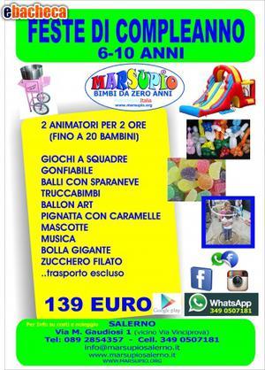 Festa per bambini a € 139