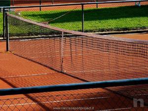Rete per impianto da tennis in polipropilente con nastro mm