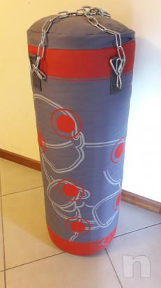 Sacco paracolpi Domyos + kit fissaggio a muro