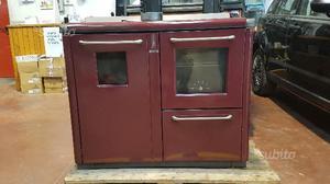 Stufa a legna con piano cottura forno e posot class - Stufa a legna acqua calda ...