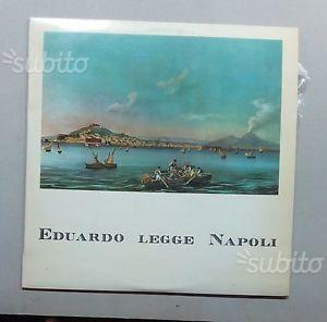Vinile d'Epoca 33 Giri - Eduardo Legge Napoli