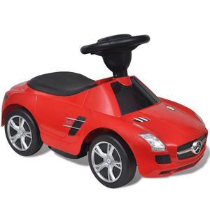 vidaXL Macchina cavalcabile Mercedes Benz SLS AMG rossa