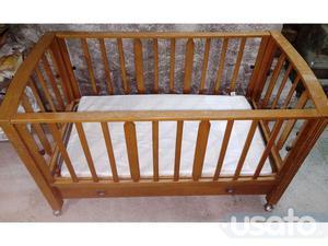 Annuncio Lettino culla bimbo bimba neonato con materasso