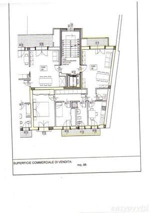 Appartamento trilocale 98 mq, provincia di pavia
