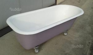 Vasca Da Bagno Vintage Prezzi : Vasca da bagno antica anni in ghisa autentica posot class