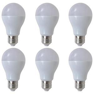 vidaXL Lampadine LED Luce bianca calda 6 pezzi 7 W E27