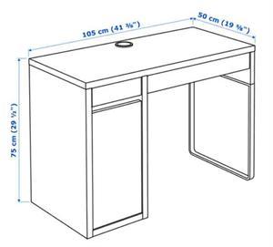Scrivania ikea micke bianca posot class for Ikea scrivania micke angolare