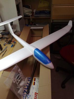 Aereo radiocomandato aeromodello aliante