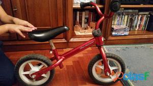 Bicicletta CHICCO senza pedali per imparare l'equilibrio