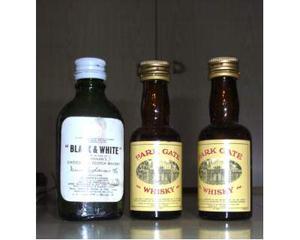 Collezione bottigliette mignon varie marche
