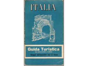 Guida turistica ITALIA  carta al milione De Agostini