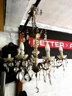 LAMPADARIO A VETRO SOFFIATO